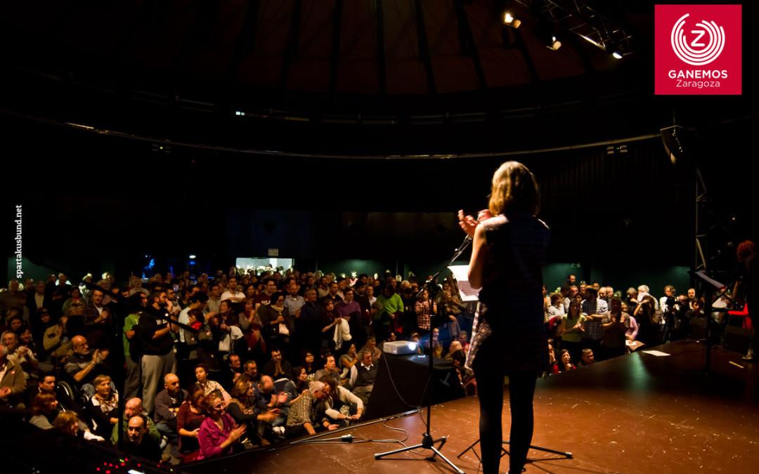 Un total de 3.731 personas han participado en las elecciones primarias de Ganemos Zaragoza