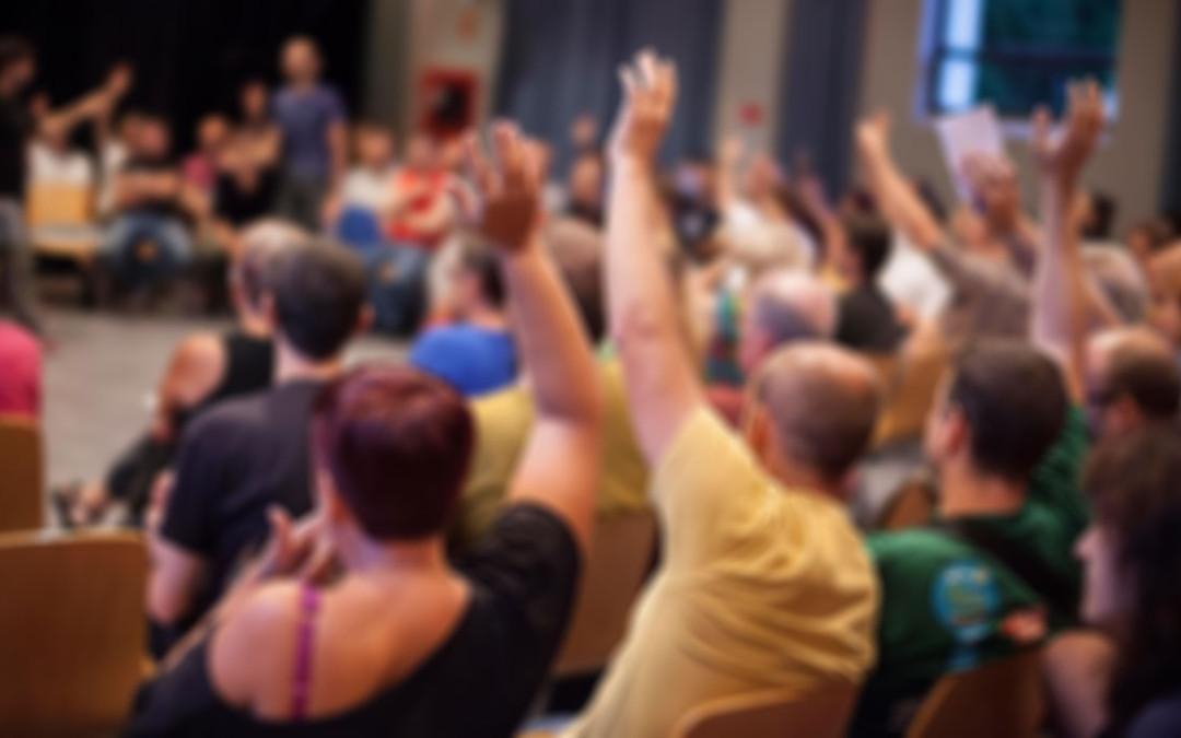 Apostamos por la participación vecinal directa en la elección de alcaldes y vocales de Barrios Rurales