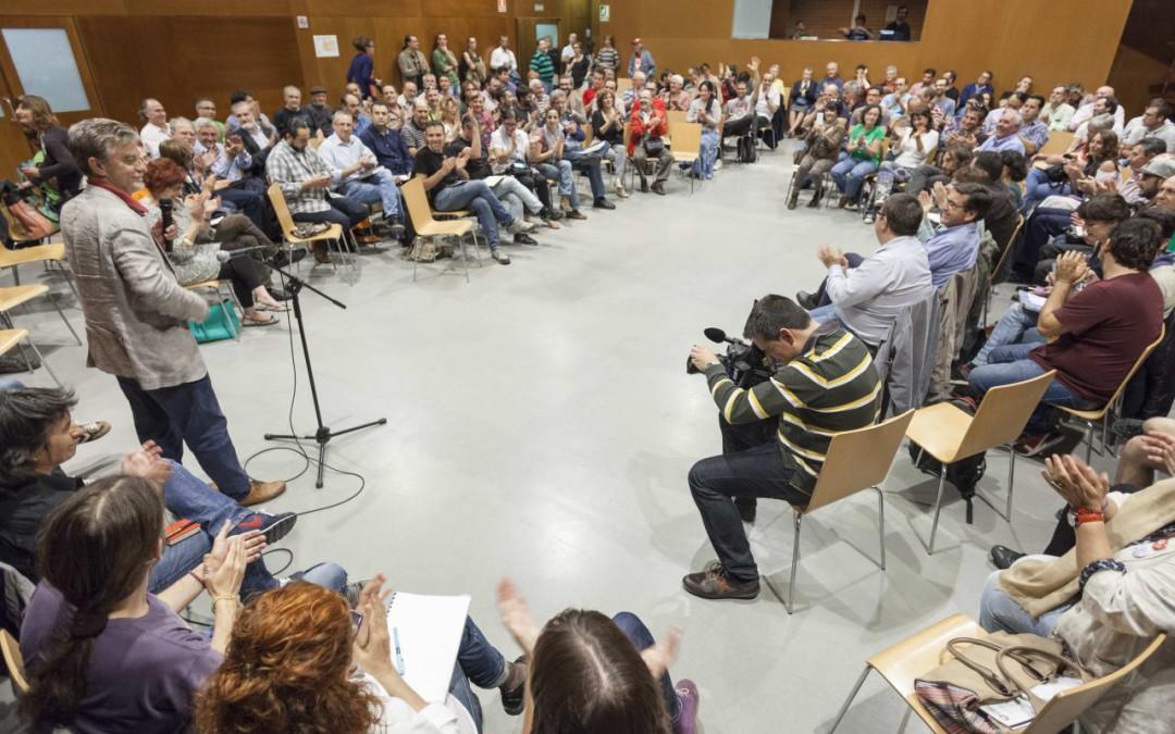 El Plenario de Zaragoza en Común marca la hoja de ruta hasta la investidura