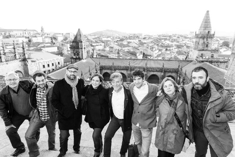 Pedro Santisteve participa en Cidades polo ben común, encuentro de ciudades rebeldes en A Coruña.