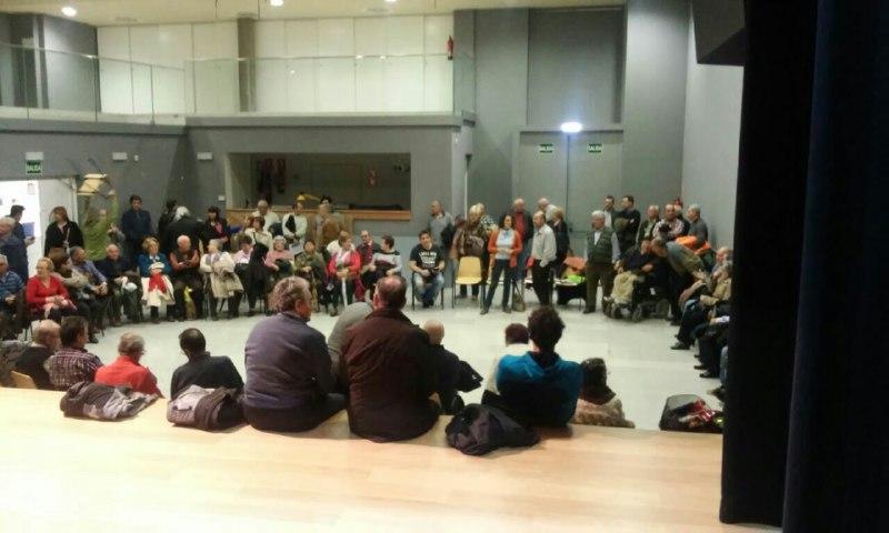 Los vecinos de Oliver-Valdefierro exponen sus necesidades de cara a unos presupuestos participativos