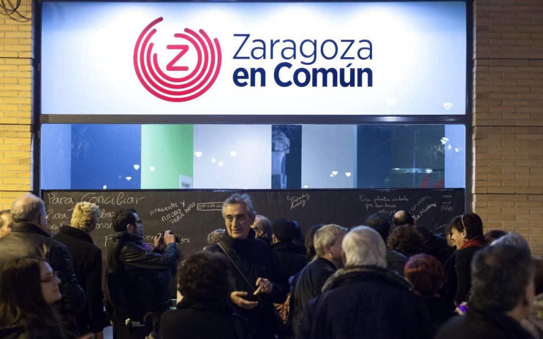 Zaragoza en Común inaugura sede