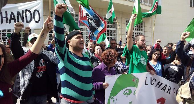 Solidaridad con el sindicalista andaluz Andrés Bódalo
