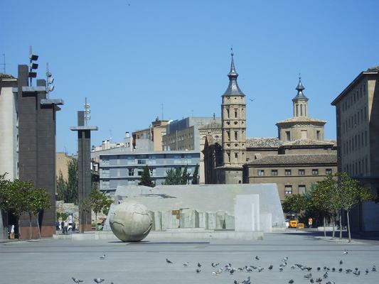 El grupo municipal de Zaragoza en Común propone habilitar los antiguos juzgados de Plaza del Pilar como vivienda pública