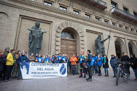 Apoyamos la Caravana por el Agua Pública