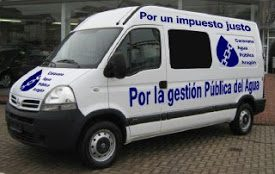Caravana por el agua pública y contra el I.C.A.