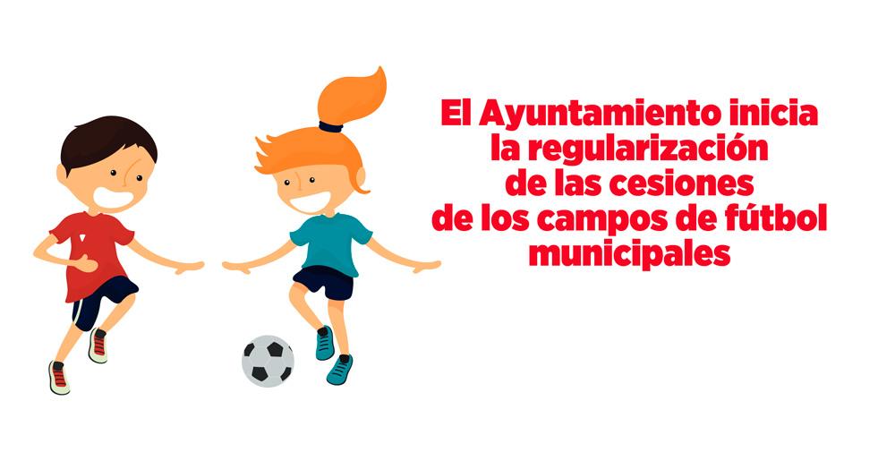Te explicamos el proceso de regularización de los Campos Municipales de Fútbol