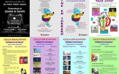 Ciclo de cine en Torrero. Del 2 al 13 de mayo