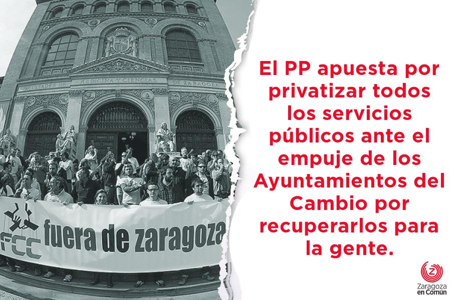Rajoy y Montoro usan el presupuesto contra los procesos de remunicipalización.
