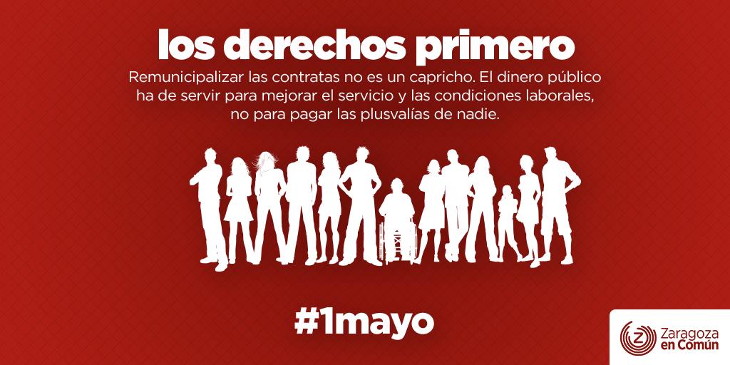 Apoyamos las movilizaciones del 1 de Mayo