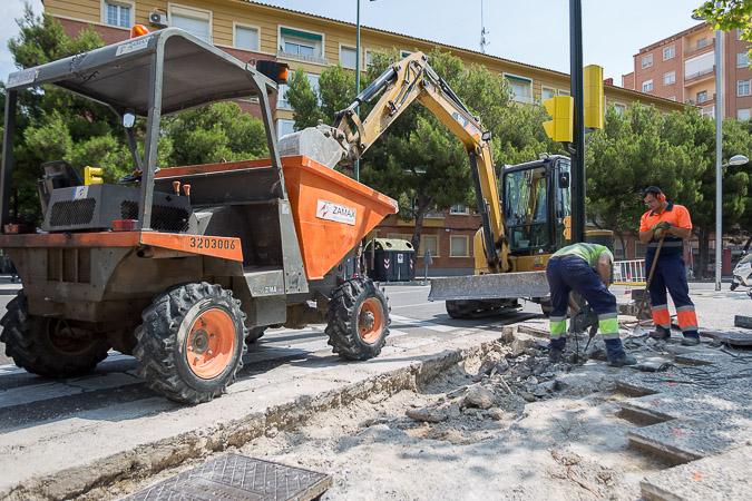 Cuidar a las empresas de inserción social y mejorar la escena urbana de los barrios de Zaragoza