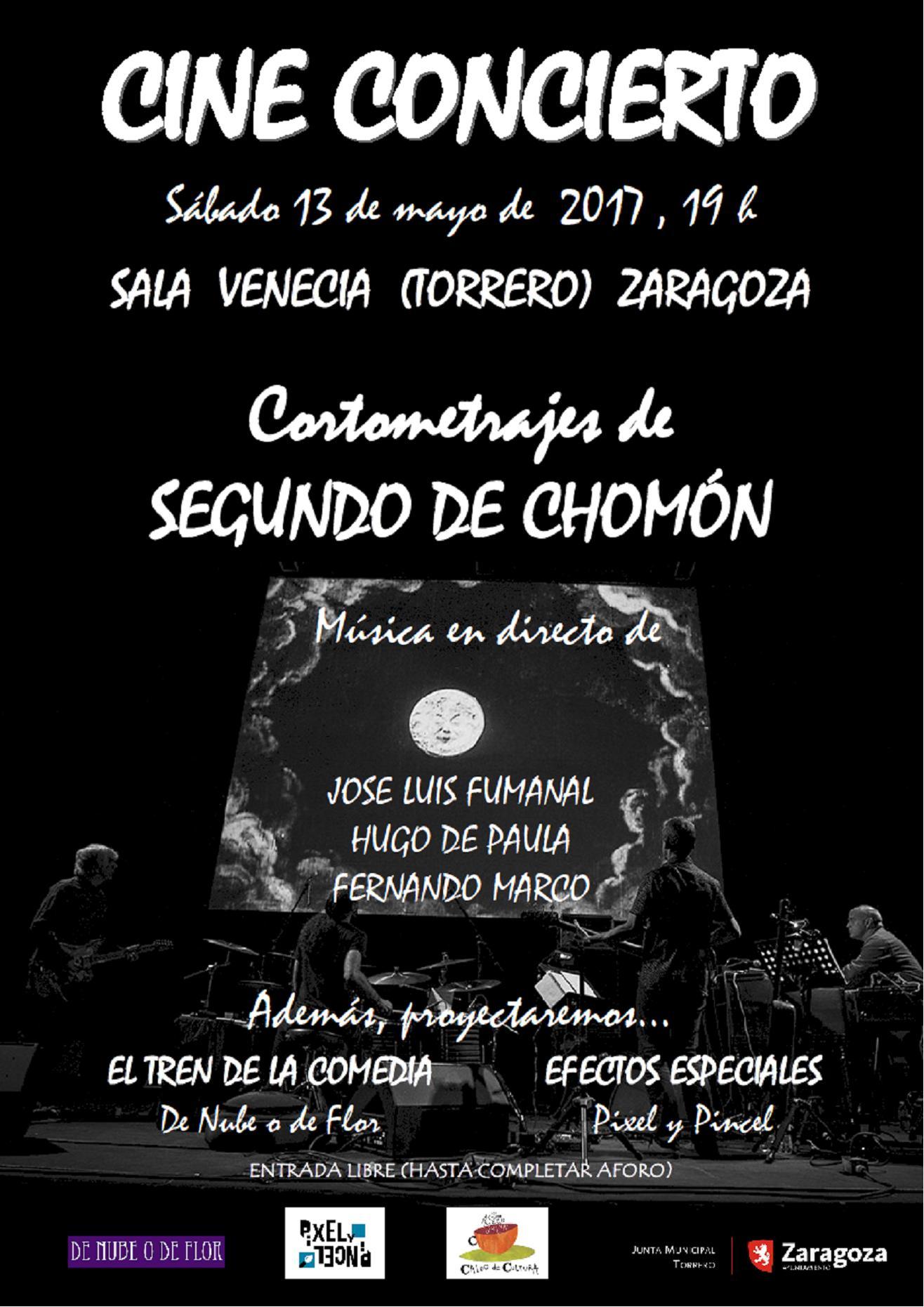 CARTEL CINE CONCIERTO • Zaragoza en Común