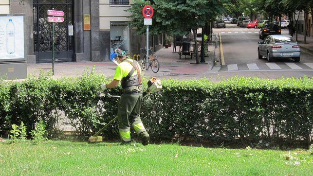 Primera reunión con CHA y PSOE para abordar la remunicipalización de Parques y Jardines