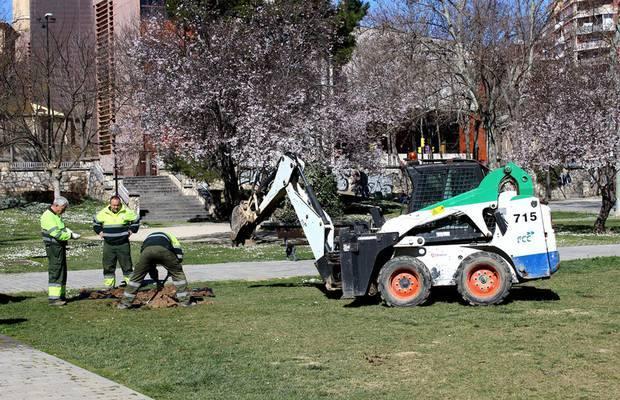 Continúa el proceso de remunicipalización de Parques y Jardines
