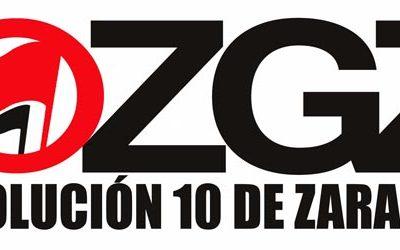 Apoyamos a los 10 antifascistas de Zaragoza en su primer juicio
