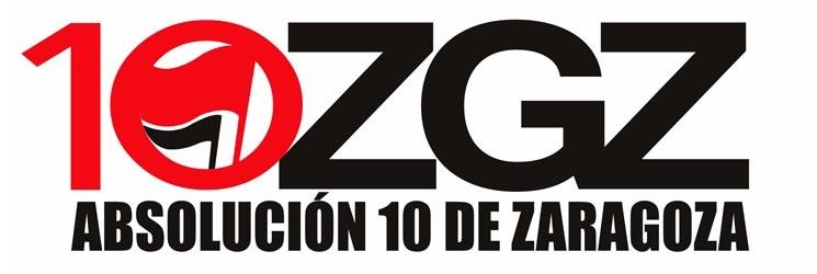 Presentamos una moción en el Pleno a favor de los 10 de Zaragoza