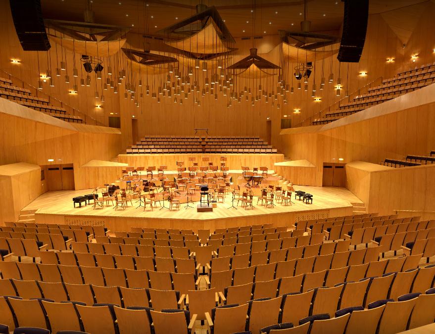 Residencias Artisticas Mosicals en l'Auditorio de Zaragoza