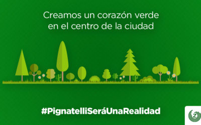 El Parque Pignatelli, un corazón verde en el centro de la ciudad