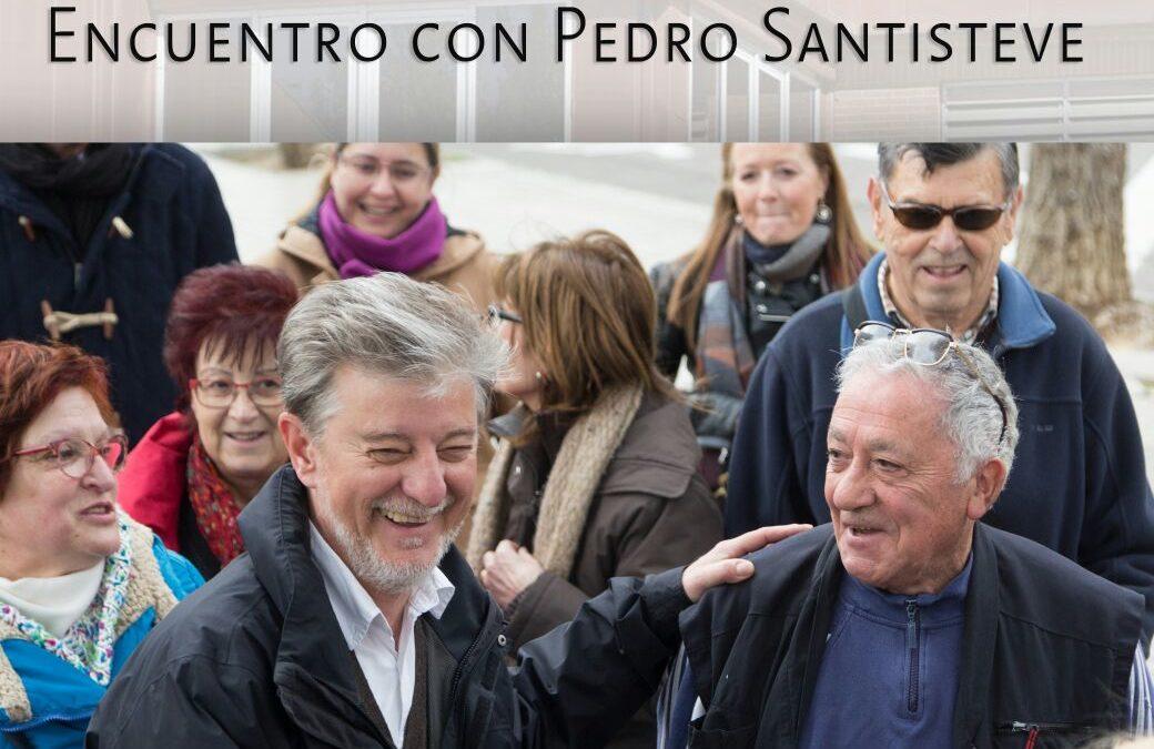 Un cafe en Torrero con el alcalde