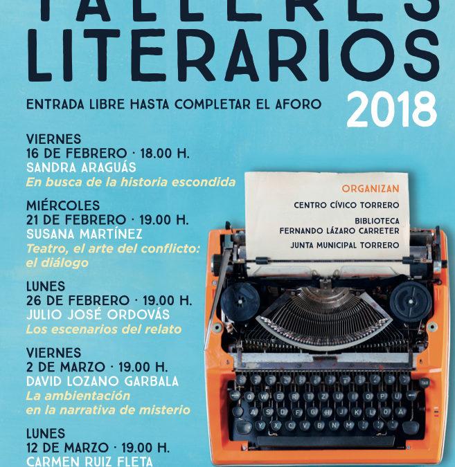 Talleres literarios de la Semana de las letras de Torrero