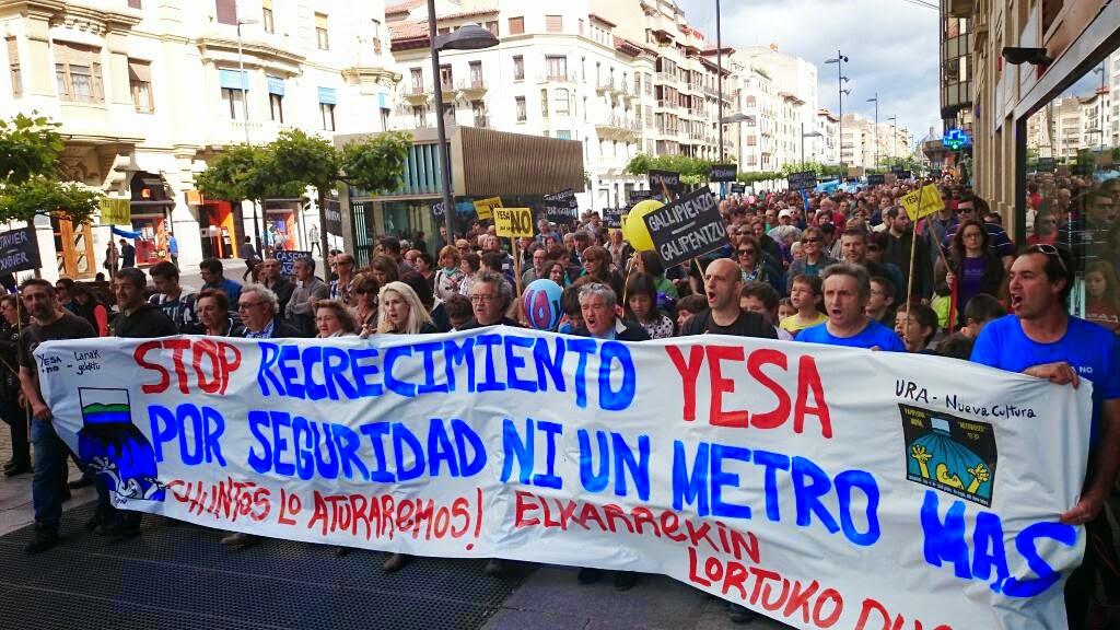 Volvemos a denunciar la opacidad de la Junta de Obras del recrecimiento de Yesa