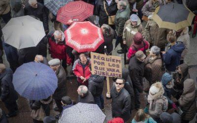 Llevamos al Pleno la defensa de las pensiones públicas dignas