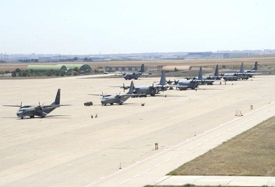 Moción para que el Pleno rechace la cesión de la Base Aérea de Zaragoza al ejército de los EE.UU.