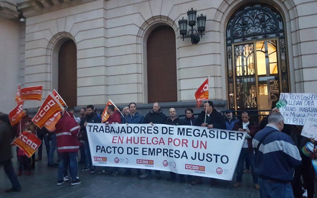 Apoyamos en el Pleno de Zaragoza a la plantilla de Megasider