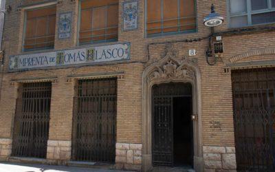 Recuperación de patrimonio histórico: Imprenta Blasco