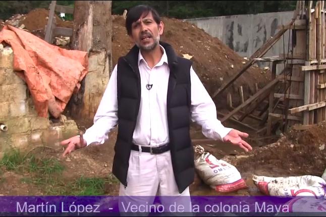 Preocupación por el conflicto en Colonia Maya de San Cristóbal de las Casas en Chiapas.