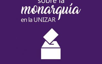 Apoyamos el referéndum sobre la monarquía en la Universidad de Zaragoza