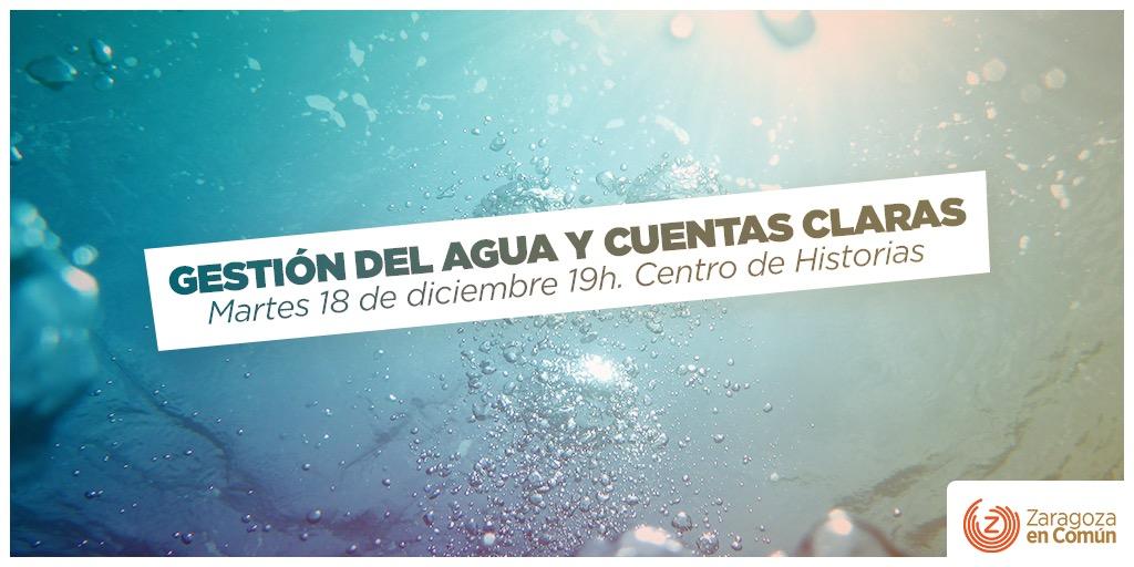 Asamblea «Gestión del agua y cuentas claras»