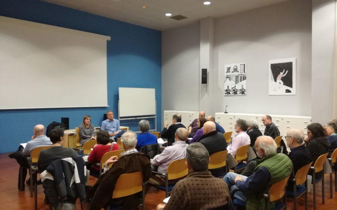 El Grupo Municipal de Zaragoza en Común mantiene una reunión informativa con entidades sociales sobre el presupuesto 2019