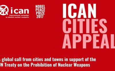 Presentamos al Pleno una moción para que el Gobierno del Estado español firme y ratifique el Tratado sobre la Prohibición de las Armas Nucleares aprobado por la ONU