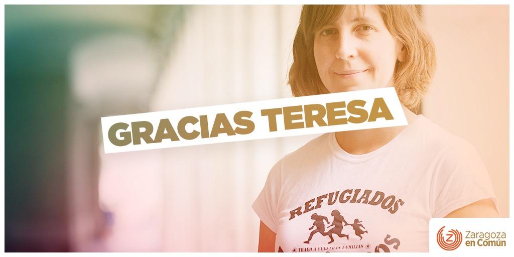 Nuestra gratitud a Teresa Artigas
