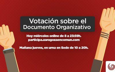 Votación de Asamblea al Documento Organizativo 2019