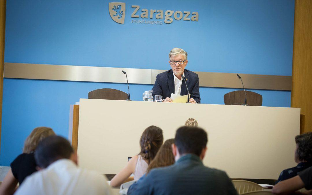 Zaragoza en Común quiere aprovechar el parking de Pza Salamero para hacer una ciudad más limpia y sostenible